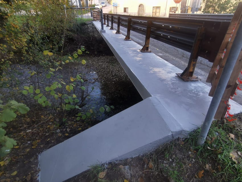 Ponte SP 99 Pontelatrave - Fiordimonte
