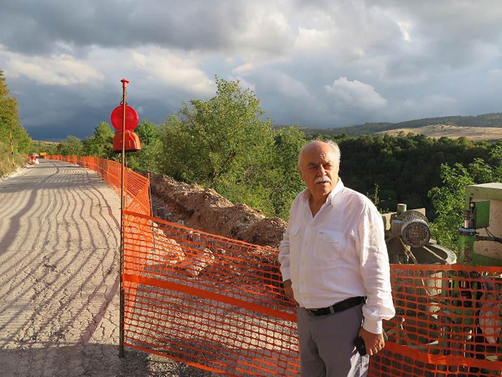 Buone notizie dai cantieri stradali dove sono in pieno svolgimento le opere di ricostruzione