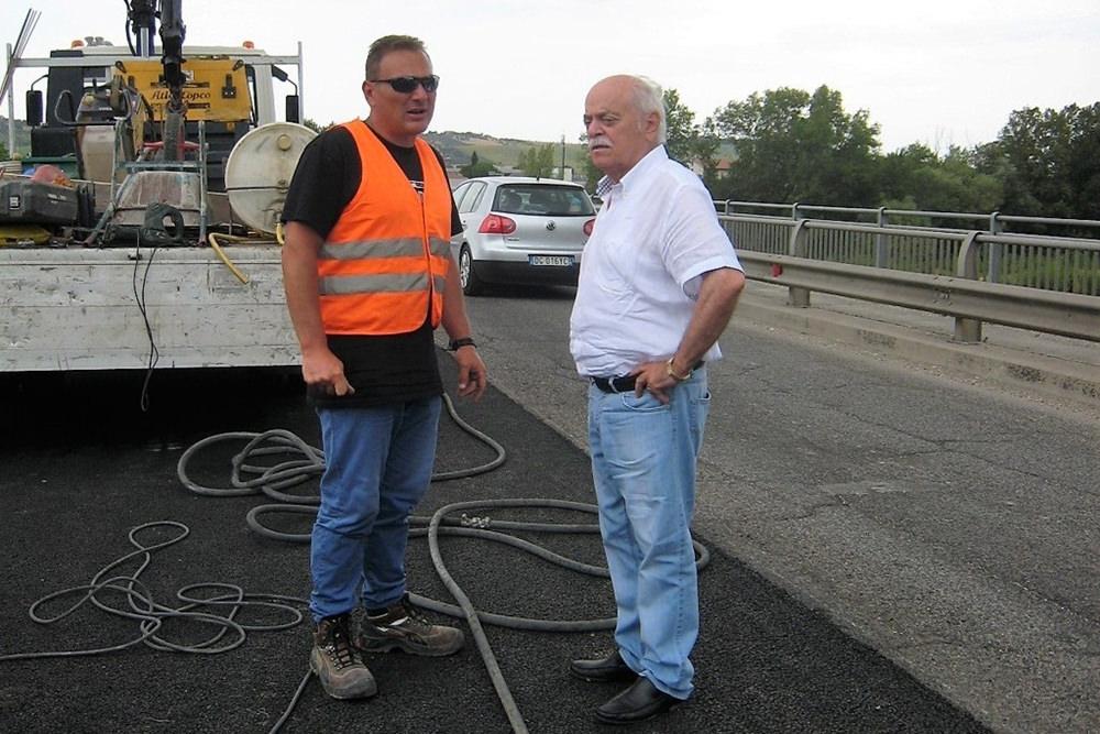 Procedono i lavori sul Ponte di Piediripa