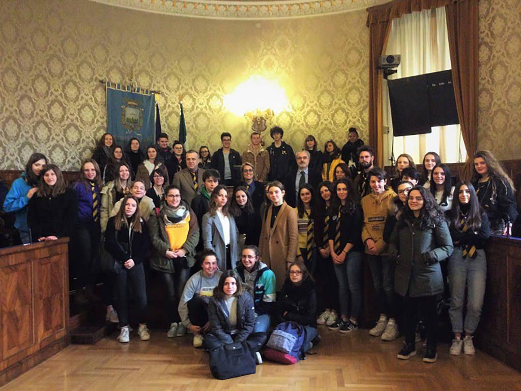 In Provincia gli alunni dell'Istituto Superiore Gentili di San Ginesio e quelli del Liceo Francese J.F. Millet di Cherbourg-en Cotentin